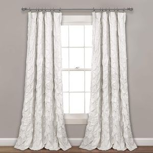 Lush rivello pintuck curtains